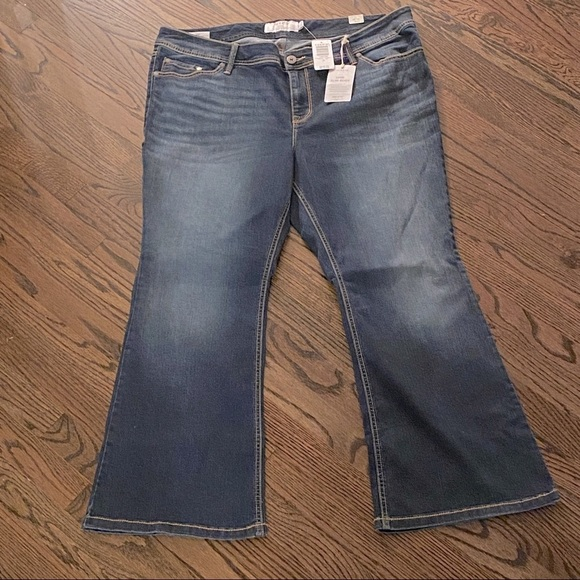 Torrid Luxe Slim Boot Jeans Size 20 Extra Short